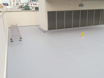 RC Roof Project B - Waterproofing Contractor Singapore