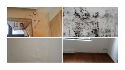 Interior Signs of Water Leakage