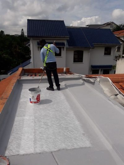RC Roof Acrylic Waterproofing - Project C 03
